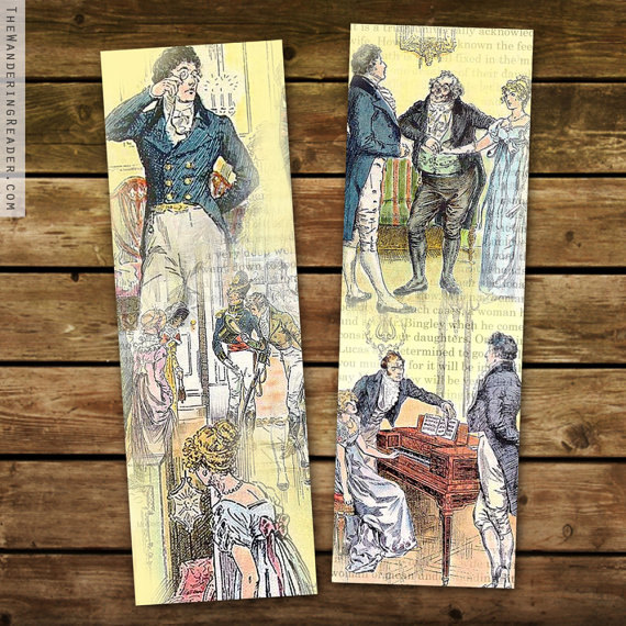 pride and prejudice bookmark