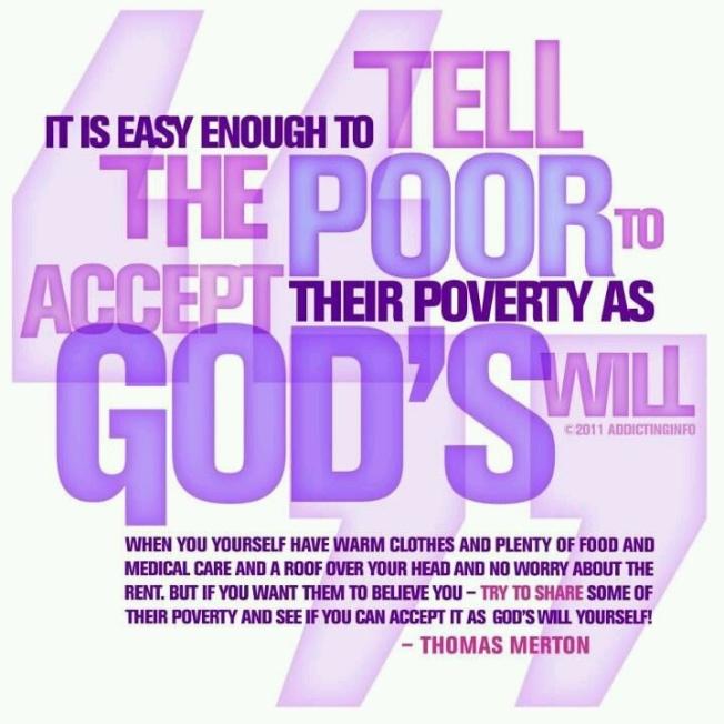 merton poverty quote