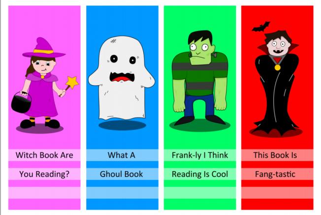 halloween reading kids