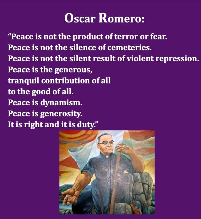 romero peace