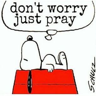 snoopy prayer
