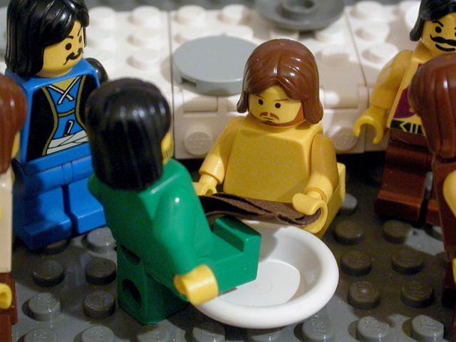 lego foot washing